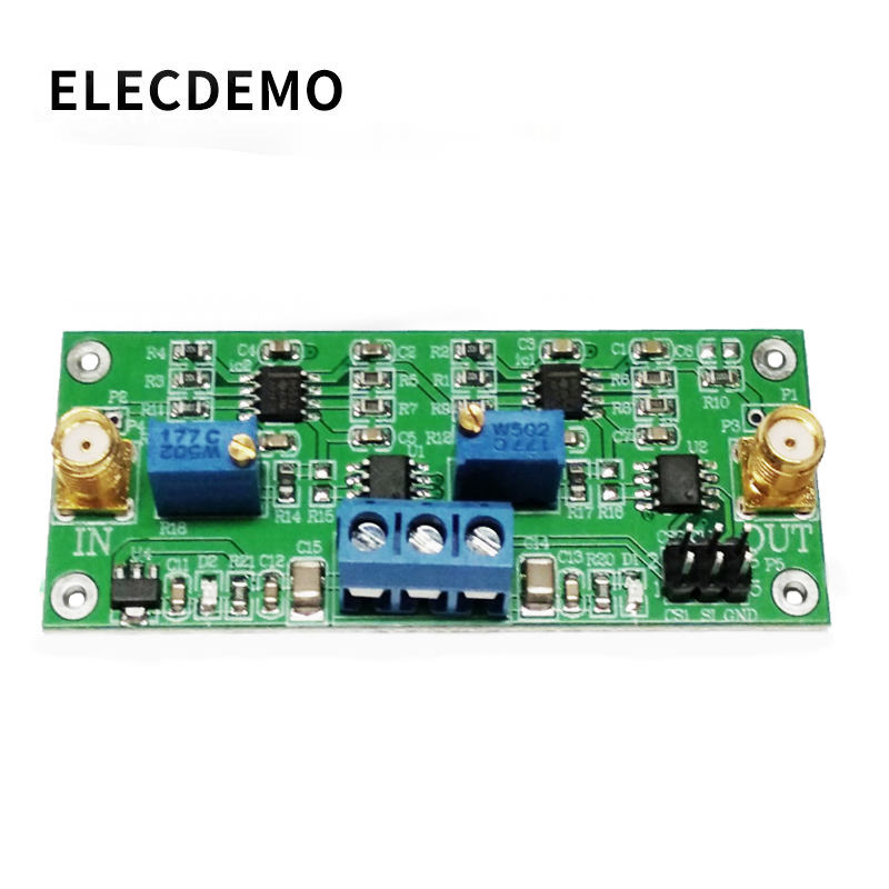 Precision Programmable Phase Shift Amplifier Module 0°~360° Adjustable MCP41010