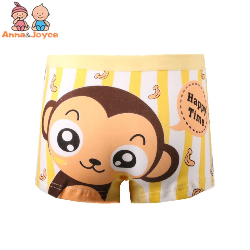 2pcs/lot Boys Boxer Underwear/ Cartoon Children's Pants/ Cotton Boys' Underwear Suit 2-10 Years 5