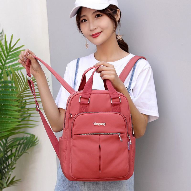 H8d2c01e0837f409987f43f25b7f00da1B - New Waterproof Nylon Backpack for Women Multi Pocket Travel Backpacks Female School Bag for Teenage Girls Dropshipping