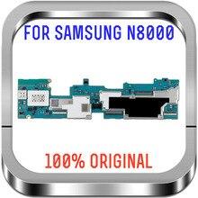 Материнская плата для Samsung Galaxy Note 10,1 N8000 3G и Wi Fi, основная плата Android OS 16 ГБ, логическая плата с чипами, 100% оригинальная разблокированная материнская плата