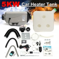 8kw/12v Single LCD Switch Silencer Car Diesel Air Heater With Remote Control