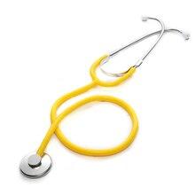 プロ聴診器シングルヘッド心臓聴診器医師ポータブル医療機器医療学生獣医ナースデバイス