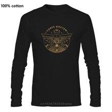 Carpe Noctem Diem T-Shirt hommes randonnée Camping nocturne hibou cadeau hauts manches longues drôle T-Shirt col rond 100% coton t-shirts
