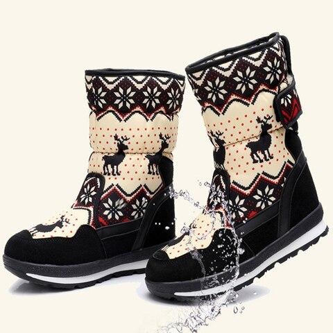 sapatos crianca inverno quente botas de neve