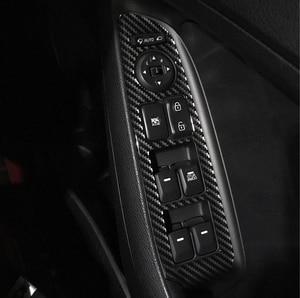 Для kia forte K3 RHD 2012-2015 2016-2018 панель передач выход стекло лифт переключатель панель украшение Рамка углеродного волокна шаблон