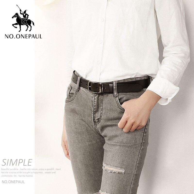 NO. ONEPAUL, женский ремень из натуральной кожи, модный, Ретро стиль, высокое качество, люксовый бренд, для девушек, металлическая двойная пряжка, ремень с джинсами