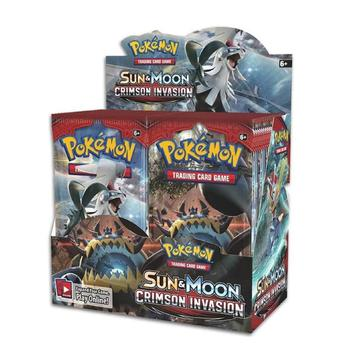 Pokemon TCG: Sun & Moon-Crimson Invasion Booster Display Pack (36 Cards) 1