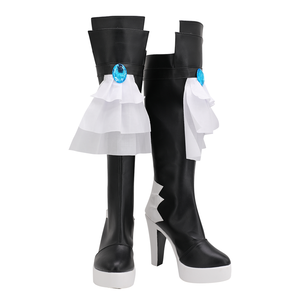 Final Fantasy 14 Gaia Cosplay Boots High Heel Shoes Custom Made for Unisex (1)