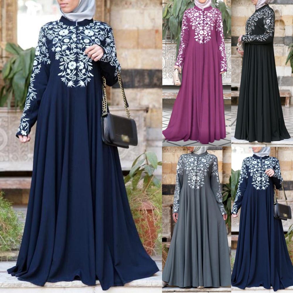 Bangladesh Abaya Robe Turkish Kaftan Abaya Dubai Hijab Muslim Embroidery Dress Islamic Clothing Arabic Caftan Marocain Djellaba