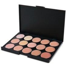 Daily makeup 15 colors face concealer camouflage cream contour cream palette professional makeup foundation cream concealer