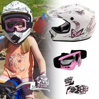 DOT Kids Youth Child Kids Helmet Offroad Dirt Bike ATV Girls Boys Safety Sports Cycling Helmets casco moto gifts Cycling kask 2