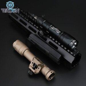 Image 5 - Airsoft Surefir taktik M600 M600C Armas izci ışıklı fener LED 340 lümen Softair açık avcılık tüfek silah el feneri
