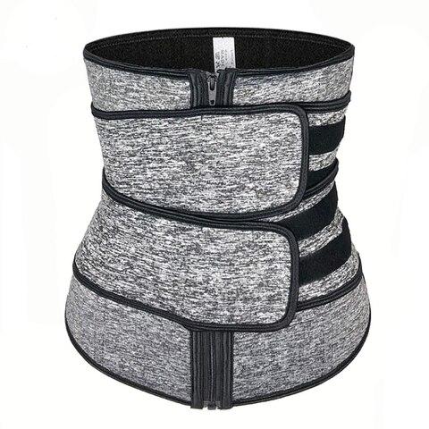 Cintura de Volta Shaper para Mulheres Perda de Peso Apoio Cintura Trainer Trimmer Cinto Neoprene Corpo Compressão Treino Fitness