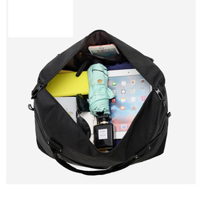 Image 3 - Large Capacity Travel Bag Unisex Fashion Travel Duffel Bags Waterproof Oxford Cloth Hand Luggage Bag Womens Weekend Package