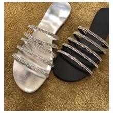 New flat slippers pantuflas 2020 zapatillas elegantes de mujer slipper summer buty damskie shoes woman
