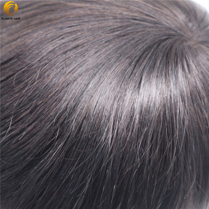 Image 5 - Durable Breathable Mens Toupee French Lace with Poly Coating Indian Human Hair System Men 7 Sizes Hair Nuit