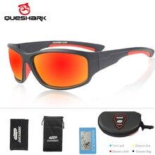 QUESHARK Polarized Sports Sunglasses for Men Women Baseball