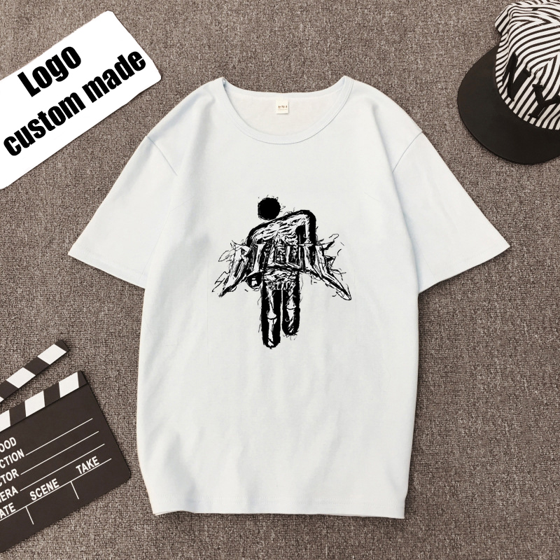 Harajuku Billie Eilish Camiseta T Shirt Trendy Streetwear Top Tees Cool Tshirt Hipster Graphic Funny Leisure T-shirt Femme Homme