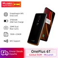 Global ROM Oneplus 6T McLaren 10GB 256GB Snapdragon 845 6.41 19.5:9 Full Screen In Display Fingerprint 20MP OxygenOS Cellphone