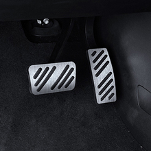 For  Cadillac XT5 car pedal gas foot rest stainless modified pad non slip performance aluminium fuel