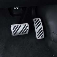 купить For  Cadillac XT5 car pedal gas foot rest stainless modified pad non slip performance aluminium fuel по цене 715.33 рублей