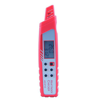 AZ8715 Mini Pen Type Digital Heat Index Meter 0-50 Degree 0%-100%RH/ Heat Stroke Preventer Dew Point. недорого
