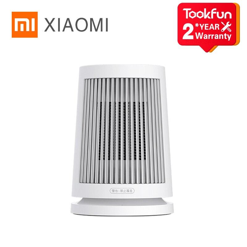 XIAOMI MIJIA Desktop Electric Heaters Fan heater 600W PTC Fast Heating Protable Mini Home heater Safety handy Fireproof Material