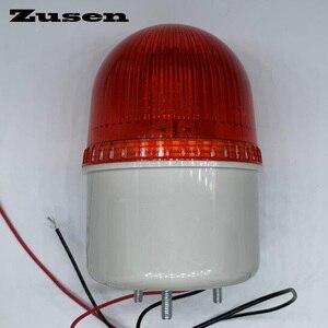 Image 2 - Zusen TB72D 220V маленький мигающий свет безопасность сигнализация стробоскоп сигнал предупреждасветильник свет светодиодная лампа