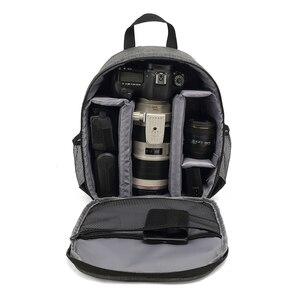 Image 1 - Mochila multifuncional para câmera dslr, a prova d água, outdoor, bolsa para câmeras, tripé