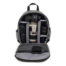 Multi fonctionnel appareil Photo numérique sac à dos sac DSLR appareil Photo sac Photo étanche en plein air pour appareils Photo lentille trépieds
