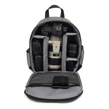 Wielofunkcyjny cyfrowy plecak na aparat torba na aparat torba na aparat dslr zdjęcie wodoodporna kamera zewnętrzna torba na aparaty obiektywy statywy tanie tanio Andoer Uniwersalny Torby aparatu Plecaki Camera Backpack Poliester