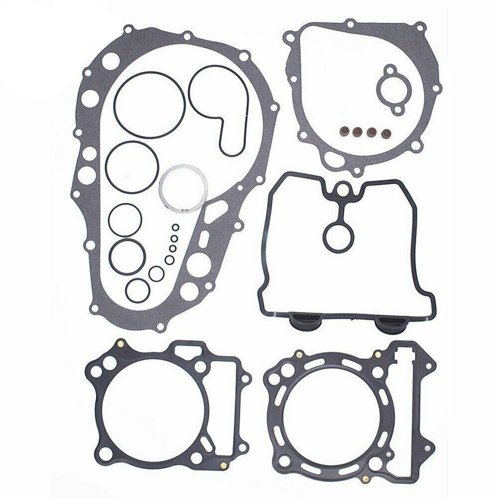 Верхний и нижний конец двигателя для 2003-2006 Kawasaki KFX400 полный комплект прокладок
