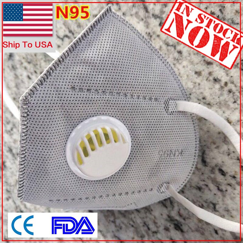 100Pcs 5 Layers Thickened Disposable Mouth Protection Mouth Covers Non-Woven Anti-Dust Protective Face Covers Earloop In Stock!