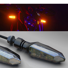 цены на yellow lighting motorbike LED unviersal accessories for honda suzuki KTM racing moto light turn signals for motorcycle flashing  в интернет-магазинах