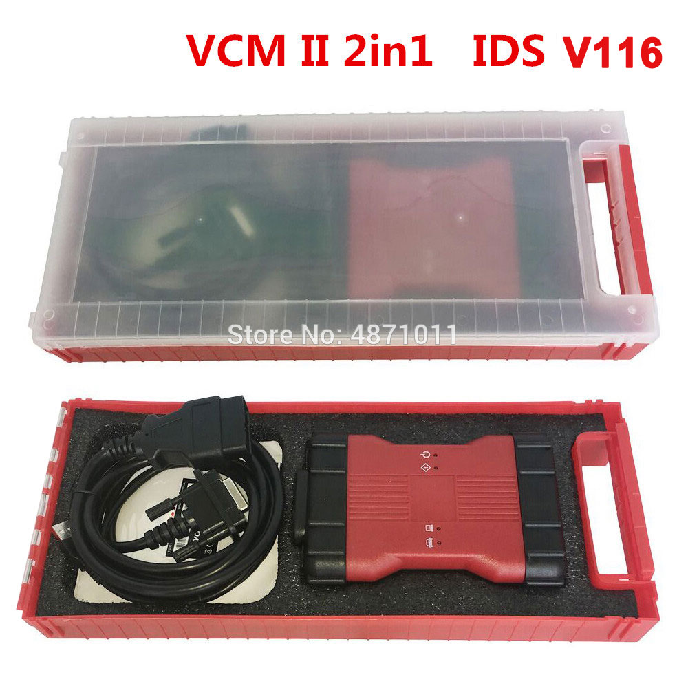 VCM2 2 In 1 For Ford IDS V116 And For Mazda IDS V116 Diagnostic Tool VCM II