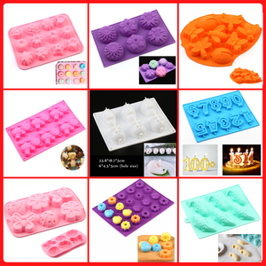 New Silicone Cake Mold 3d flower cake bakeware tool muffin cupcake jello pudding ice mould pastry biscuit bread baking mold Best(China)