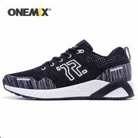 Onemix tênis de corrida masculino  tênis esportivo de malha  para caminhada  tamanho eur 35-46