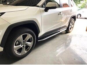 Image 4 - OE トヨタ RAV4 ため実行しているサイドステップサイドバー 2019 2020 2021 、オリジナルデザイン、保証品質、 guanrantee フィットインストール