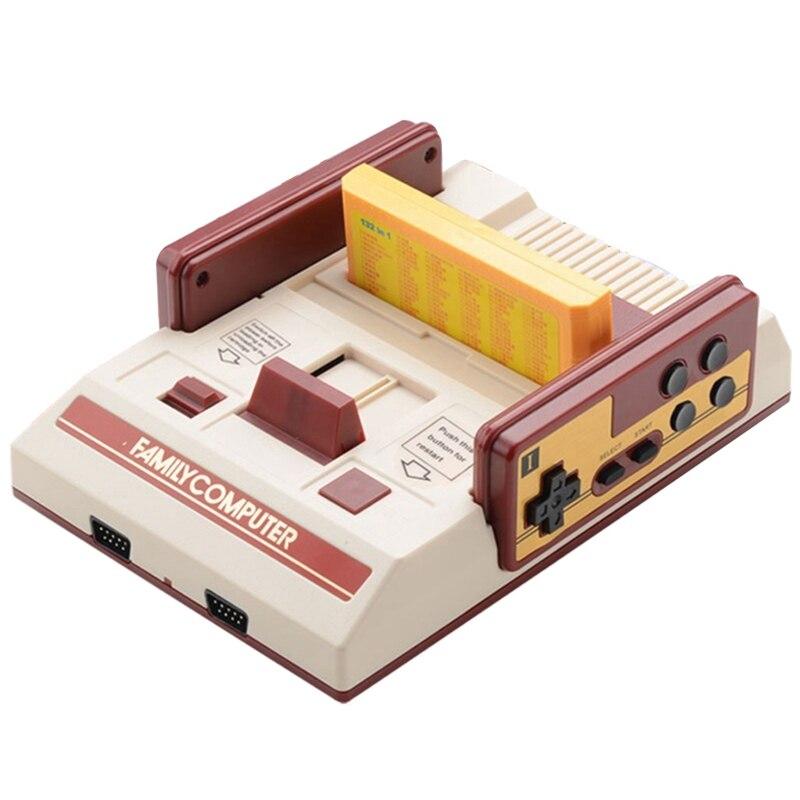 Nintendo schalter RS-37 Tragbare Rot + Weiß Familie Spielkonsole für FC Video Spiel Freies Spiel Karte, für NES 8 Klassische Nostalgische
