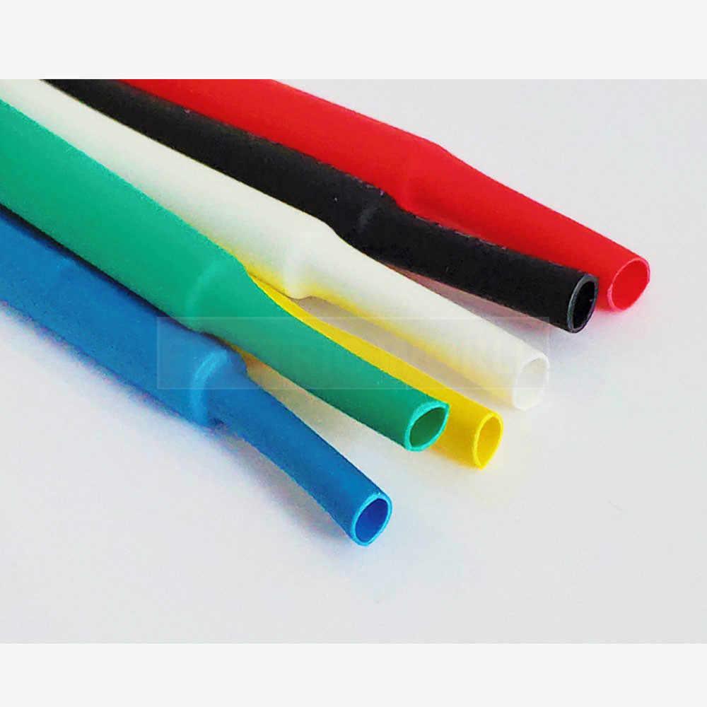 ความร้อน 1 เมตร 2:1 สีดำ 1 2 3 5 6 8 10 มม.HEATSHRINK ท่อ Connector DIY ซ่อมหลอด Sleeving Wrap ลวด