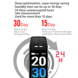 Image 3 - Eyefun smart watch es smartband דם לחץ smart watch דם לחץ חמצן קצב לב smart watch es אנדרואיד שעון 0.96 ips
