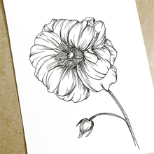 Clear Stamps Blooming flowers Transparent Rubber Stamps Silicone Scrapbooking for Card Making Photo Album Craft Decor Stamp 2019