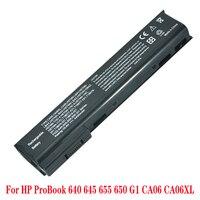 Bateria do portátil para HP ProBook 650 CA06 640 645 650 655 G1 G0 CA09 CA06XL HSTNN-I16C HSTNN-DB4Y HSTNN-LB4Y HSTNN-LB4X Bateria