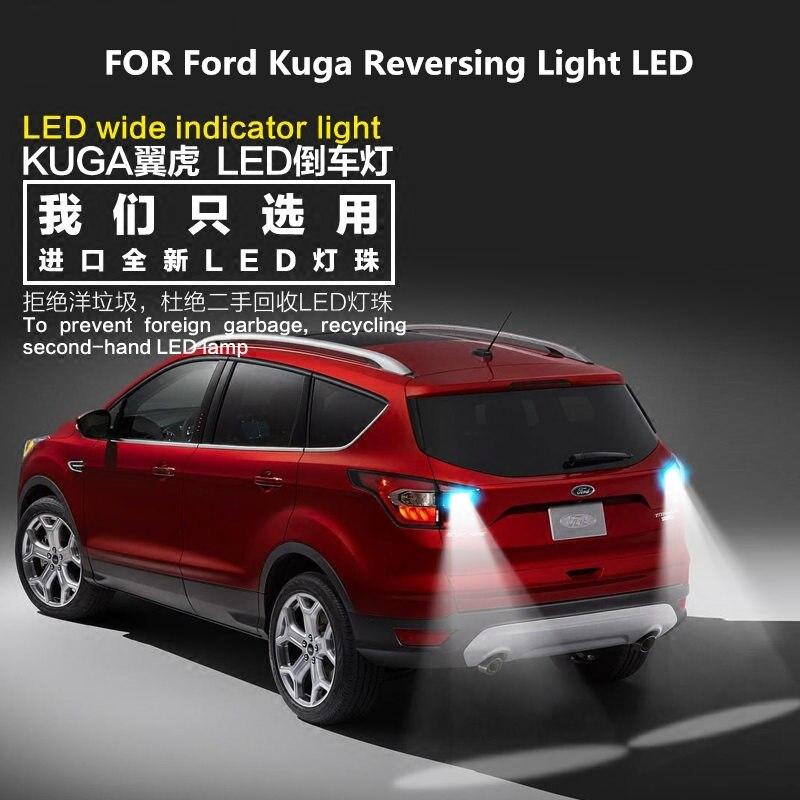 FOR Ford Kuga Reversing Light 2013-2018 LED 9W 5300K T15 Retirement Auxiliary Light Kuga Light Refit
