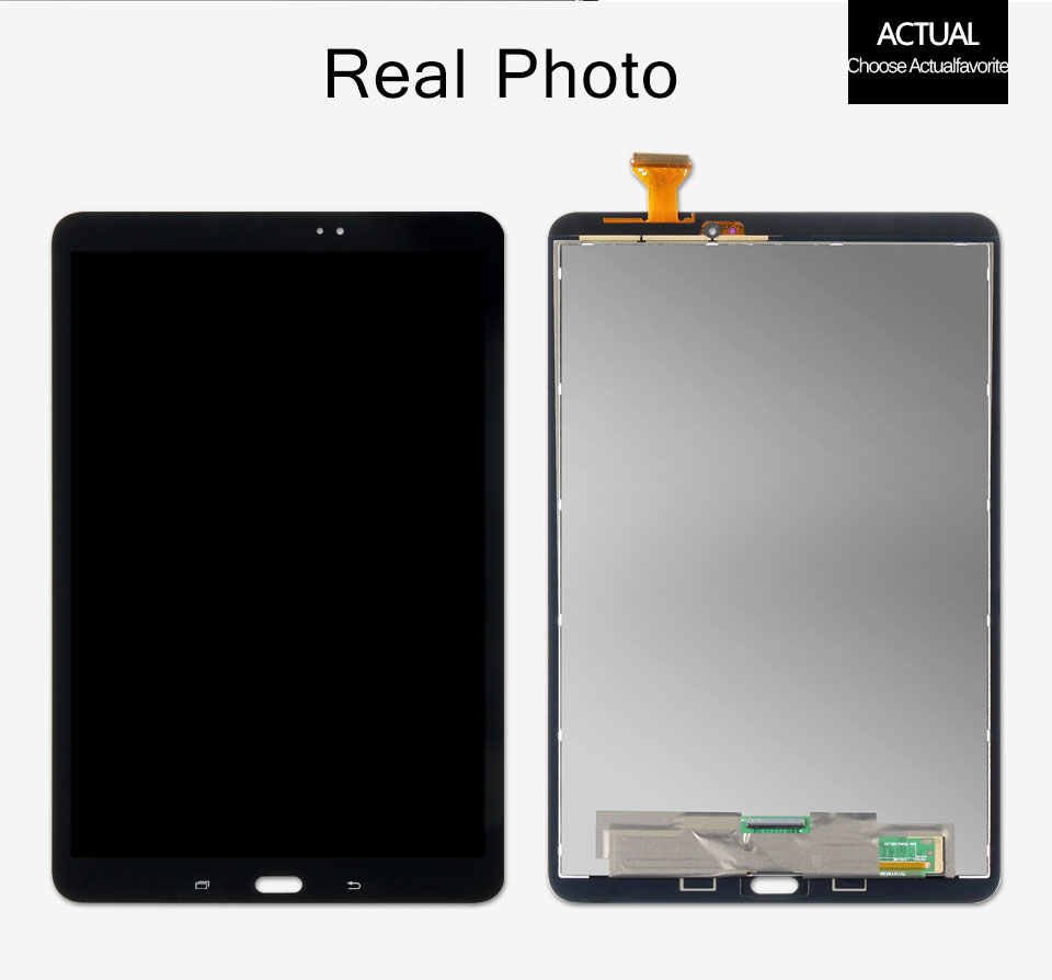 SM T580 LCD For Samsung Galaxy Tab A 10.1 SM-T580 Screen SM-T585 LCD Matrix Touch Display T585 Digitizer Assembly Replacement