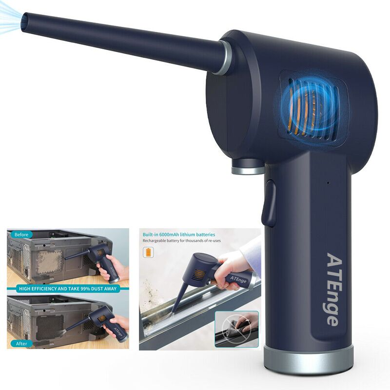 Air-Duster Computer Air-Electric-Air-Can Cordless Cleaning Keyboard Generation-Canned