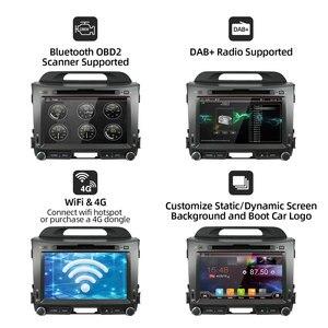 Image 4 - Bosion 32 2G + G Android 10.0 DVD player Do Carro KIA sportage r 2011 2012 2013 2014 2015 carro de rádio unidade de cabeça de navegação gps som do carro