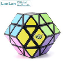 LanLan 12 Axis Rhombohedral Dodecahedron Magic Cube Megaminxeds Speed Puzzle Antistress Fidget Brain Teasers Educational Toys