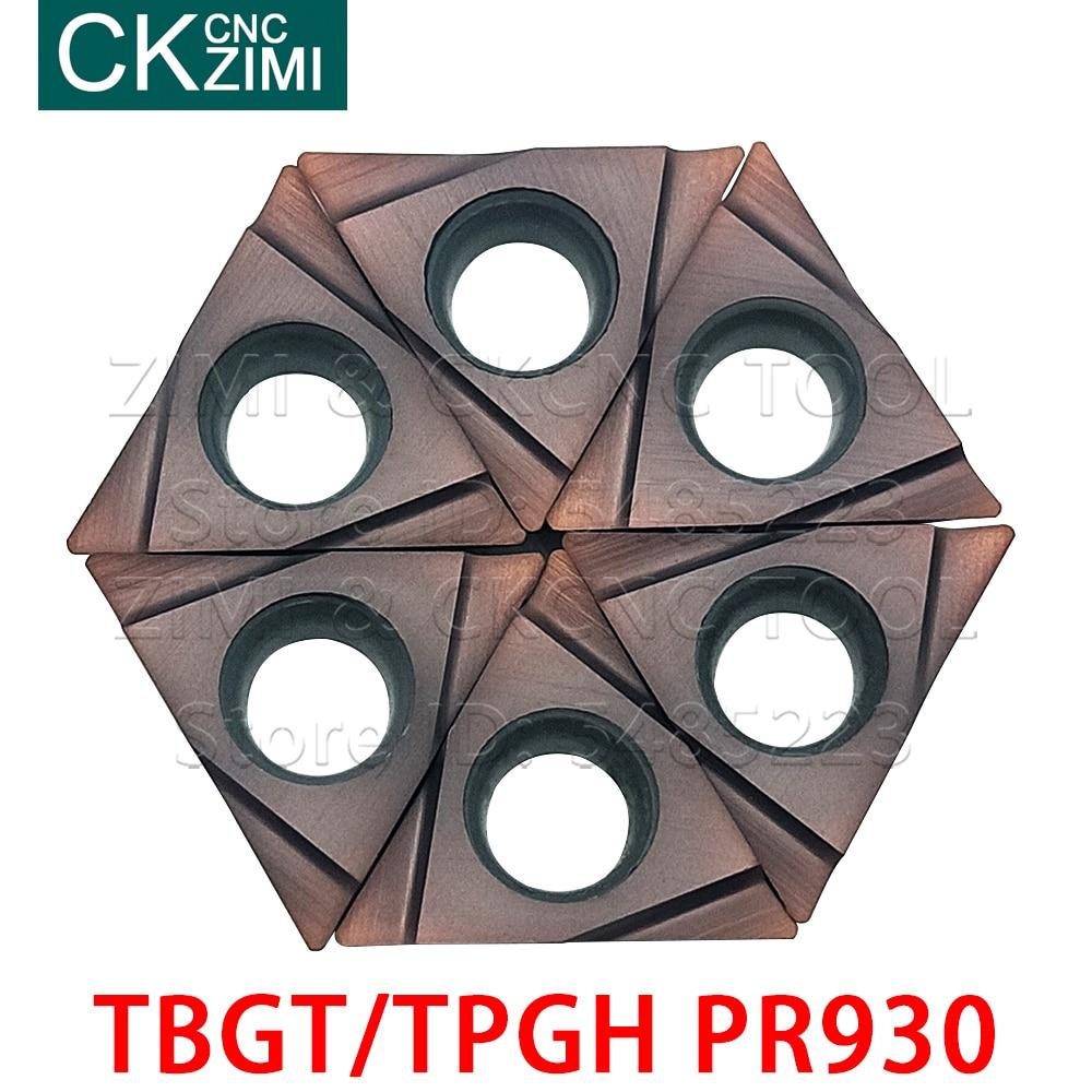 TBGT060102L TBGT060104L TPGH080202L TPGH080204L TPGH090202L TPGH090204L TPGH110302L TPGH110304L PR930 Carbide Inserts CNC Tools