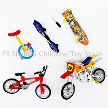 Учебные мини-скутер одно колесо скутер скейтборд мотоцикл детские игрушки палец bikebicycle модель игрушки для мальчиков